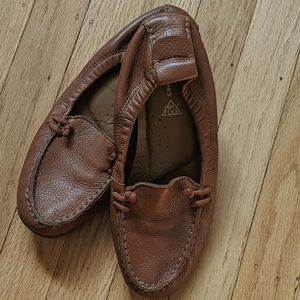 Hush Puppies Leather Flats